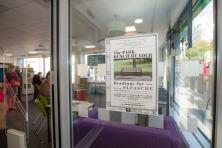 Bram Thomas Arnold- The Park Bench Reader- City Centre Library