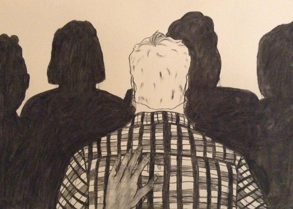 Art Wanted, Olivia Aggett 'Crowd_ anim still