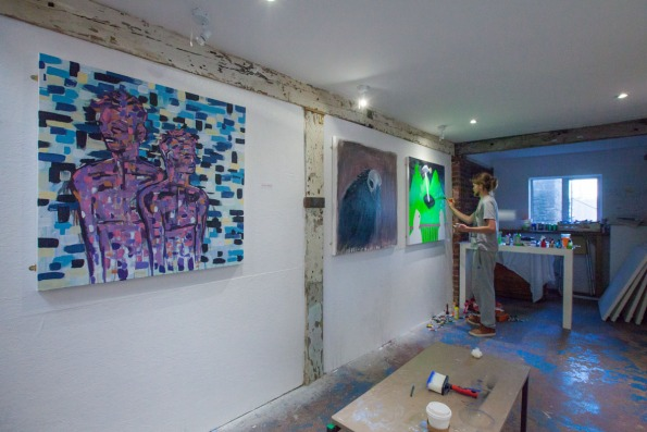 Studio 102 paintjam, credit Rod Gonzalez (3)