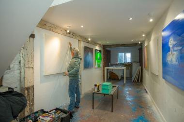 Studio 102 paintjam, credit Rod Gonzalez